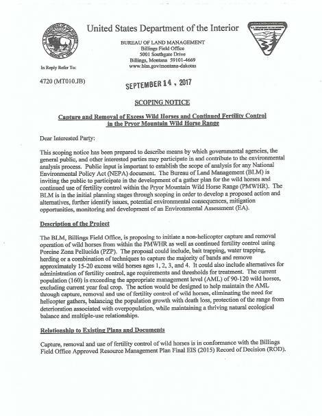 Scoping Notice p. 1